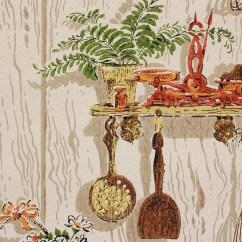 Orange Kitchen Wallpaper Novaform Mat 1970s Vintage Kitsch Rosie 39s