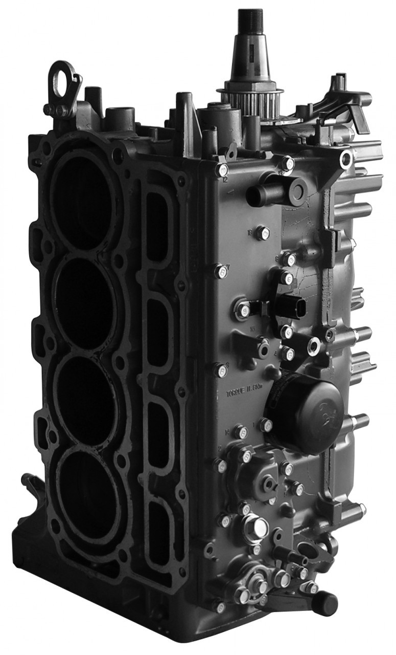 small resolution of remanufactured mercury 4 cylinder 4 stroke 75 90 115 cylinder head
