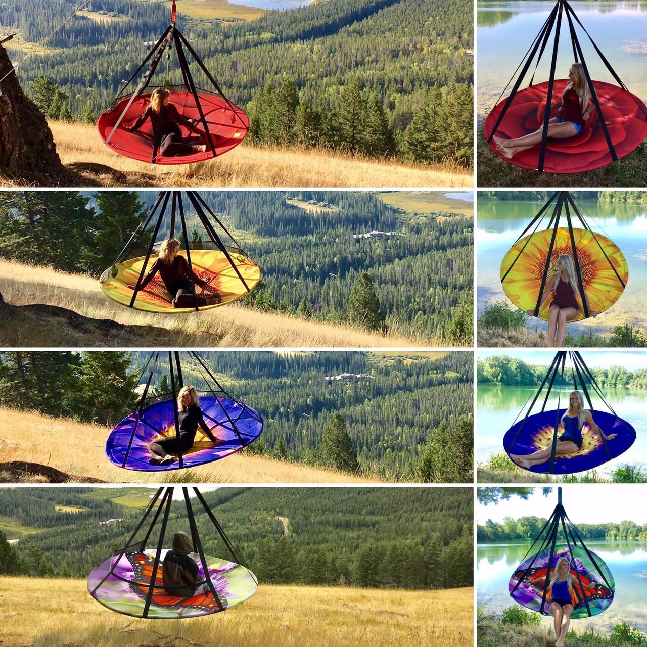 hanging hammock lounge chair air bag 7ft dia blooming flowerhouse price 398 75 image 1