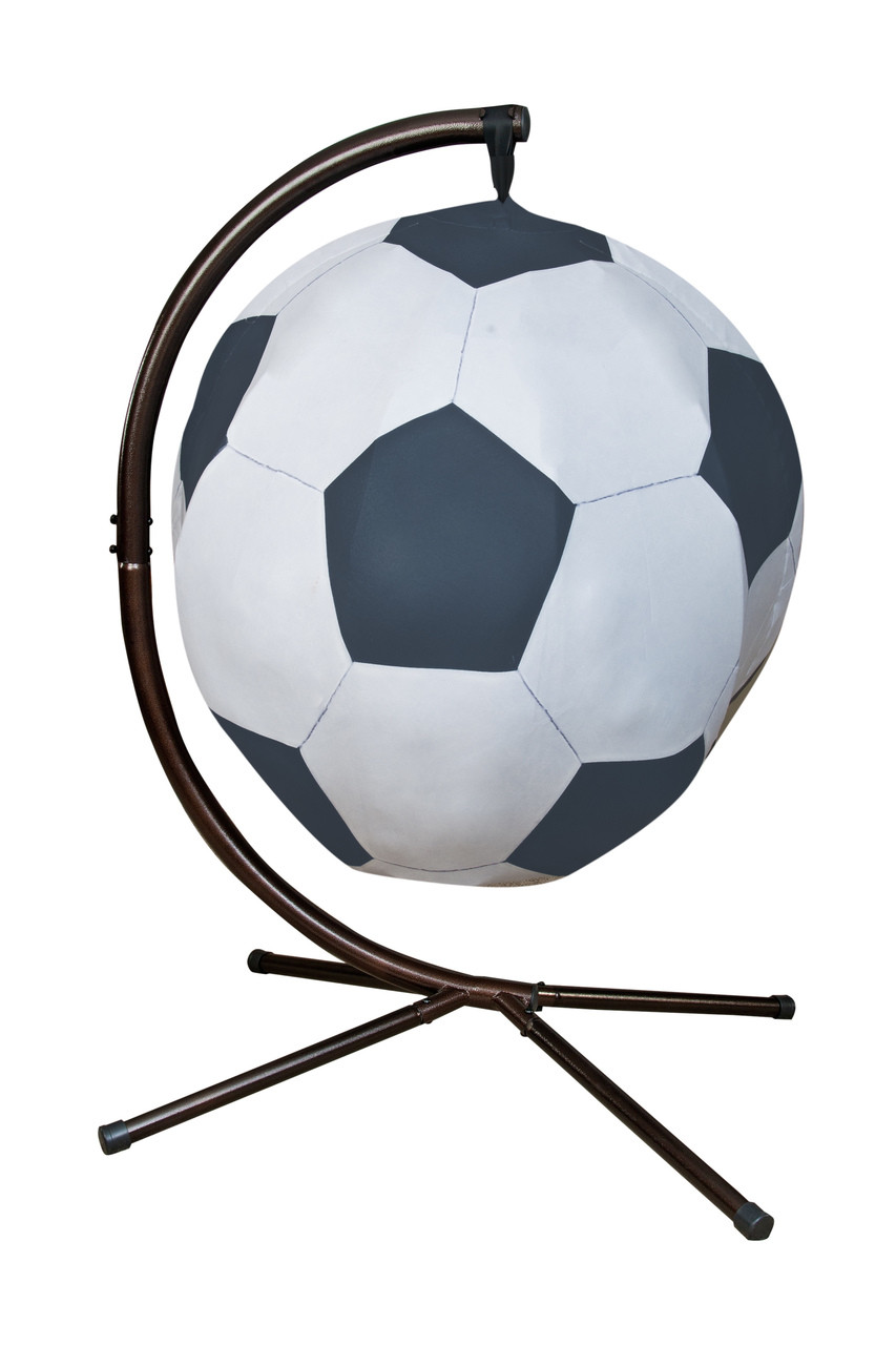 Soccerball Hanging Lounge Chair W Stand  FlowerHouse
