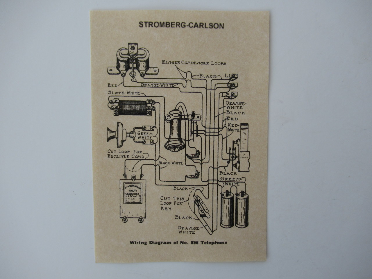 medium resolution of stromberg carlson glue in wiring diagram for wood wall phones old woodworking shop wiring diagrams