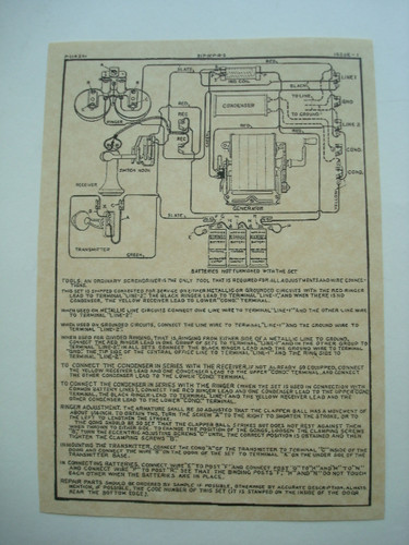 50s Wiring Diagram 317 Wood Wall Phone Diagram Glue On Old Phone Shop Store