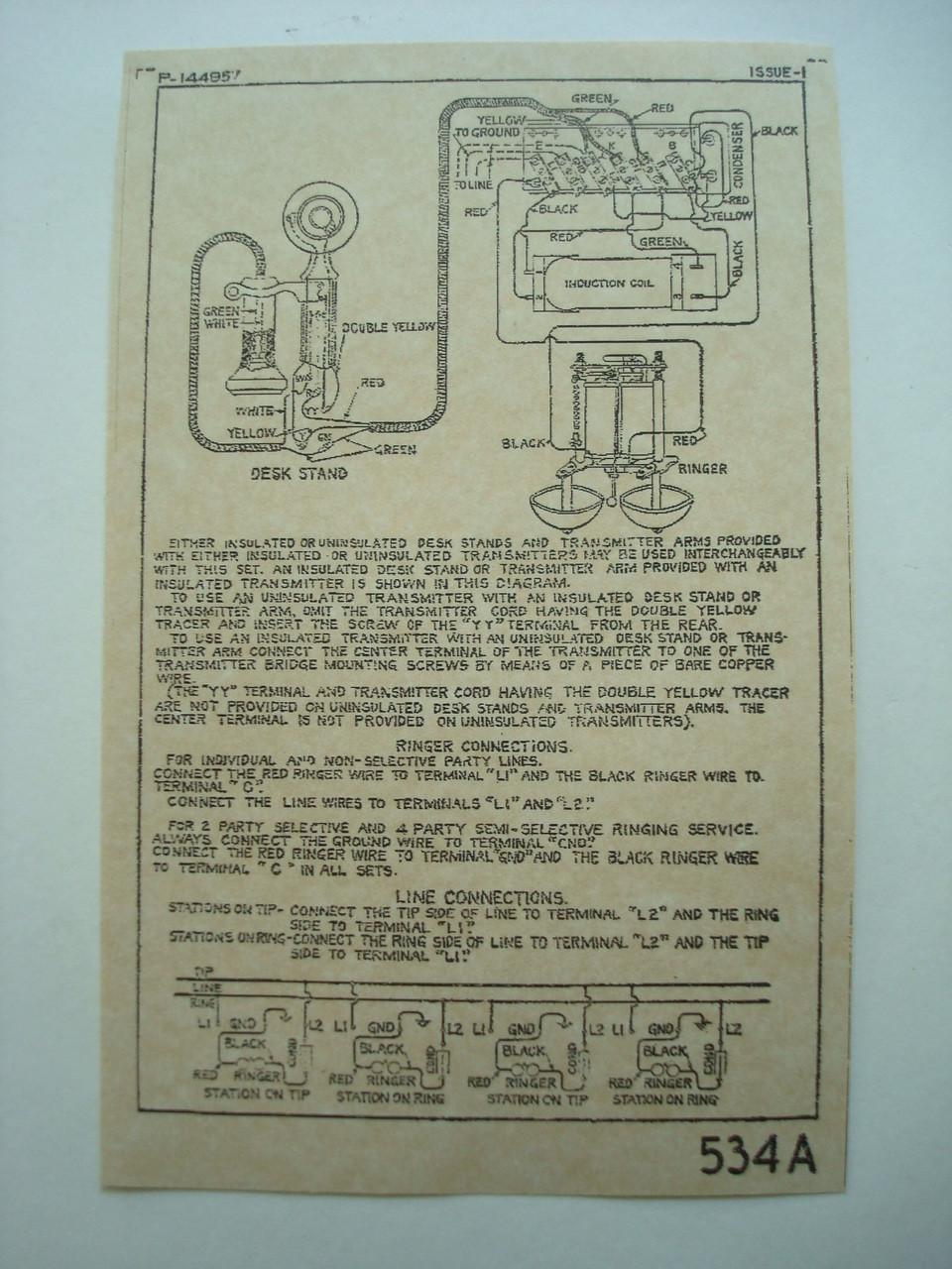 Wiring Diagram Crank Telephone Chicago Auto Electrical Wiring Crank  Telephone Wiring Diagram Crank Telephone Wiring Diagram