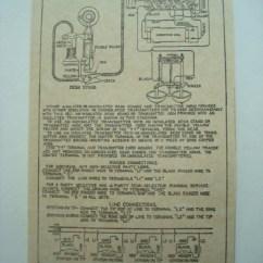 Home Phone Wiring Diagram Fairbanks Morse Magneto 534 Subset Ringer Box Glue On - Old Shop Store
