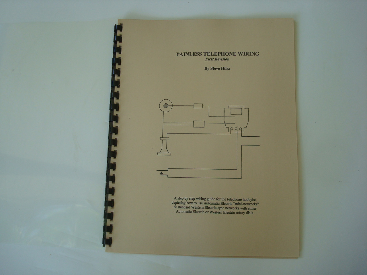 Antique Telephone Wiring And Diagram Book Painless