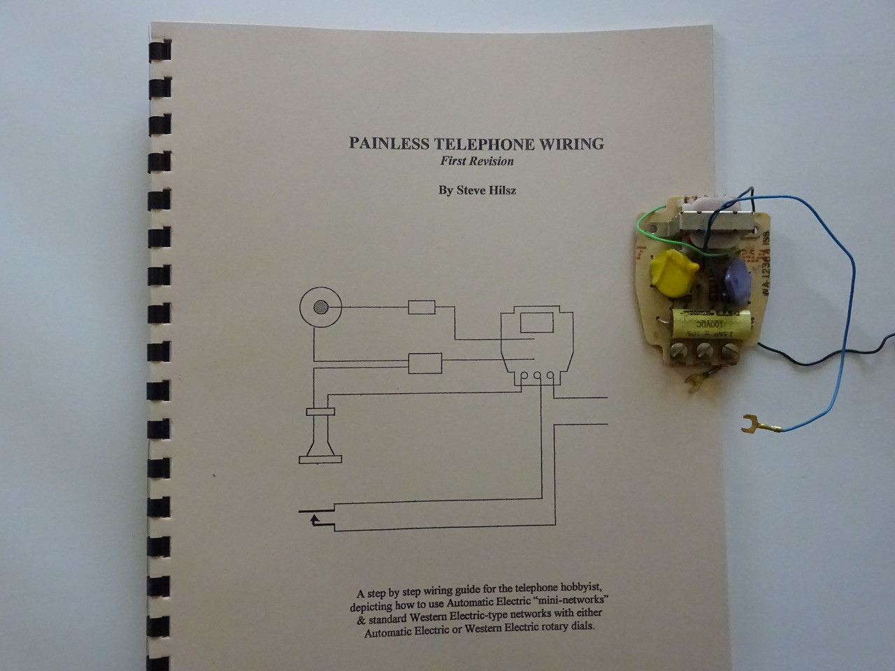 rotary dial telephone wiring diagram 2007 cobalt ls stereo antique do it yourself with the painless book loading zoom
