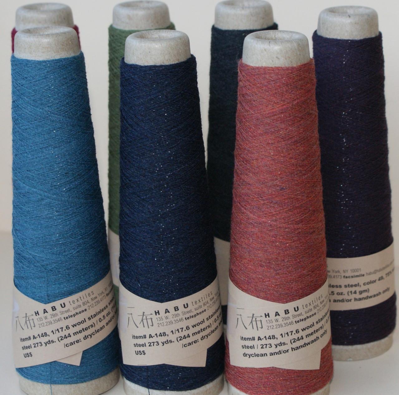 Habu Wool And Stainless Steel Yarn 1 17.6 - Hub