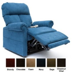 Mega Motion Lift Chairs Office Desk Chair With Ottoman Lc 100 Infinite Position Chaise Lounger