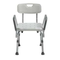 Shower Chair With Back And Arms Dining Seat Covers Etsy Removable Padded Model