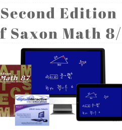 DIVE Stream \u0026 Download: Video Lectures for Saxon 8/7 with Pre-Algebra [ 1378 x 1650 Pixel ]