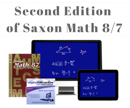 small resolution of DIVE Stream \u0026 Download: Video Lectures for Saxon 8/7 with Pre-Algebra