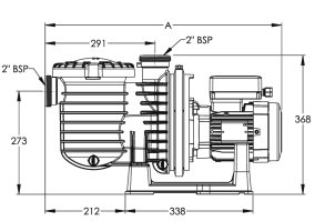 STA-RITE 5P6R Swimming pool pumps, tough reliable and