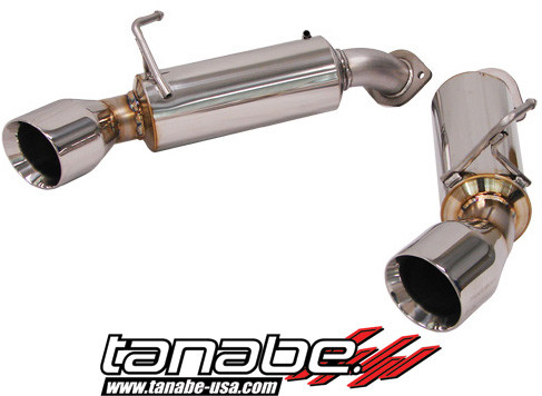 tanabe medalion touring cat back exhaust infiniti g37 coupe 08 08