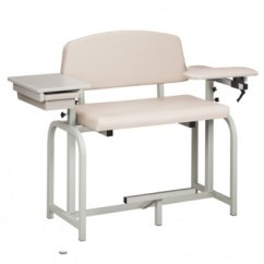 Blood Draw Chair Ebay Dining Chairs Clinton W Flip Arms Extra Tall Wide 66099 66092 Phlebotomy Drawing