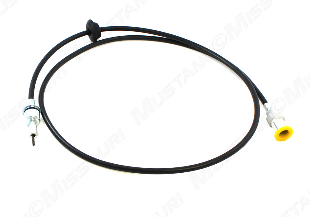 1969-1972 Ford Mustang speedometer cable for 4-speed.