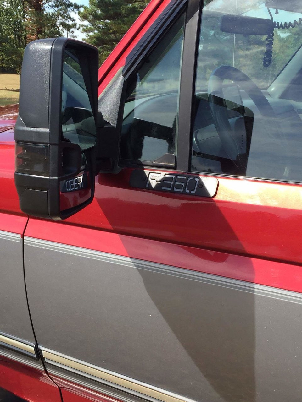 medium resolution of chevy gm duramax mirror conversion plates for obs 80 97 ford trucks dirtydiesels