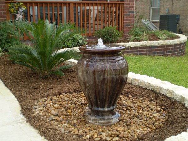 maintaining outdoor water