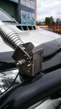 Folding Antenna Bracket (stainless) - Powerful 4x4 ...
