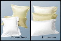 What is the difference between a pillowcase & a pillow