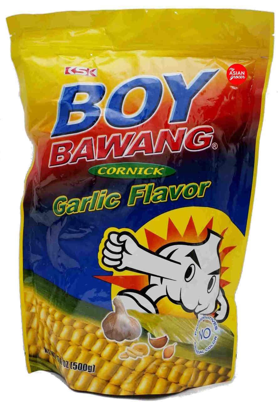 Boy Bawang Cornick Garlic Flavor 500g My Asian Grocer