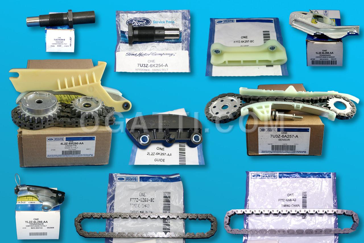 hight resolution of timing cassette timing chain kit ford explorer 4 0l v6 sohc set 10 pieces 4l2z 6m290 aa kit