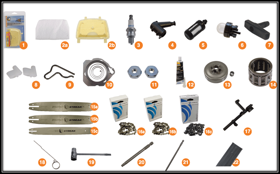 Stihl Ms 250 Parts Diagram