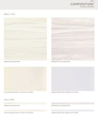Composition Collection - Visionary Glossy Ceramic Wall ...