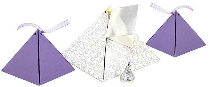 Christmas Pillow Box Template Large