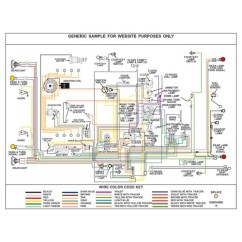1 Switch 2 Lights Wiring Diagram Warn Winch Pontiac Diagram, Fully Laminated Poster - Kwikwire.com | Electrify Your Ride