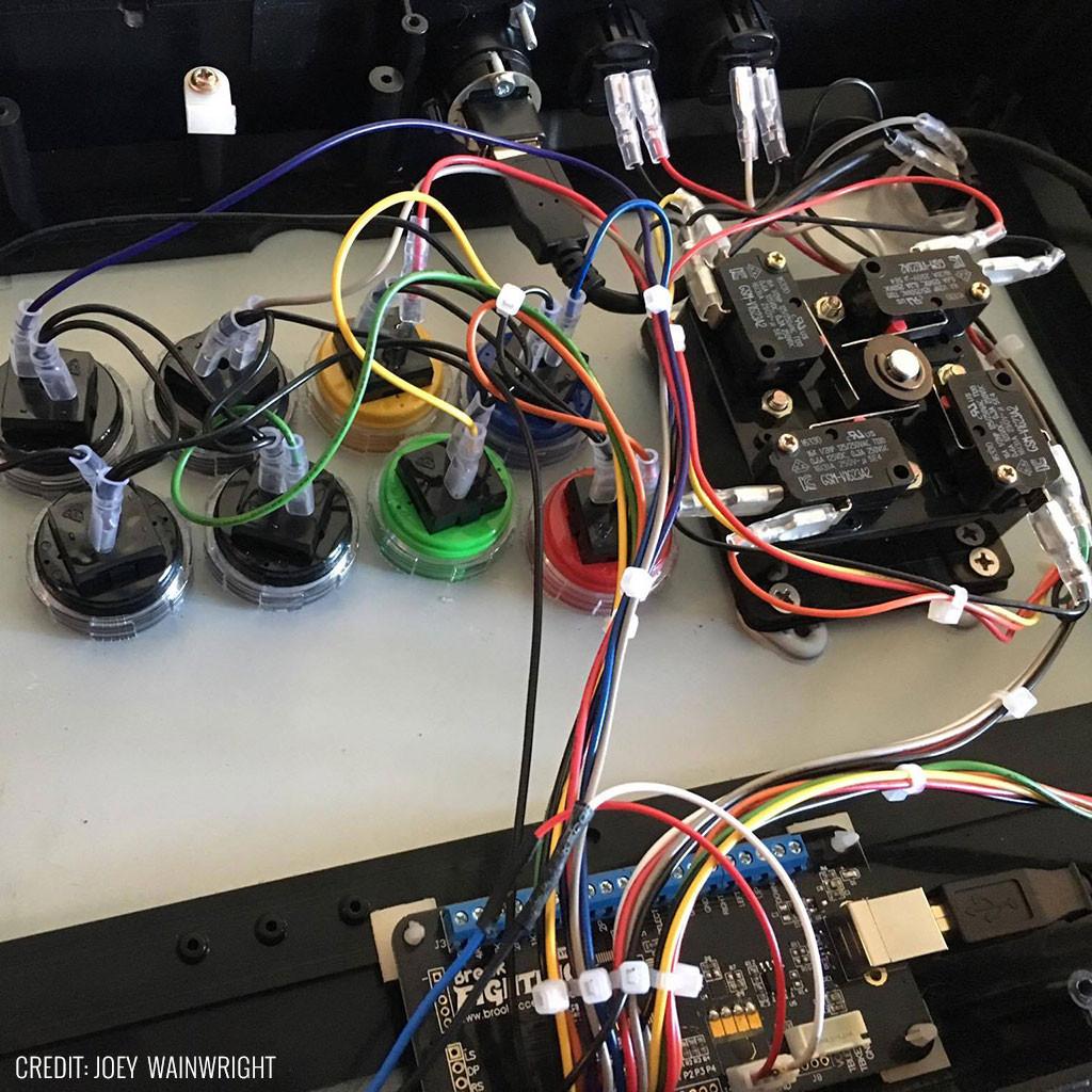 medium resolution of 20 pin joystick button harness