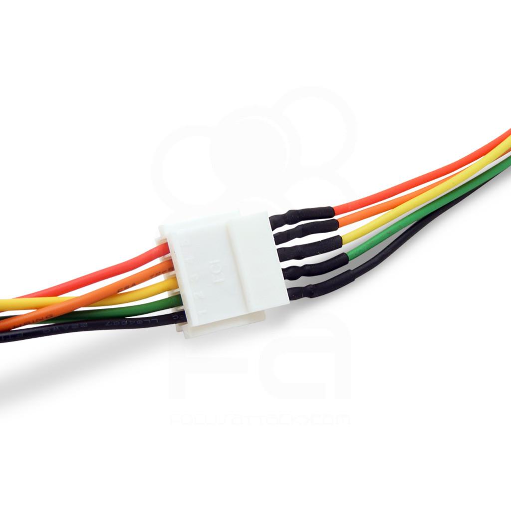 medium resolution of 5 pin hitbox conversion harness
