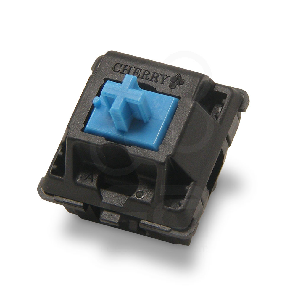 Cherry MX Blue Stem 50g Mechanical Switch for HBFS Pushbutton [RESERVE] - Focus Attack