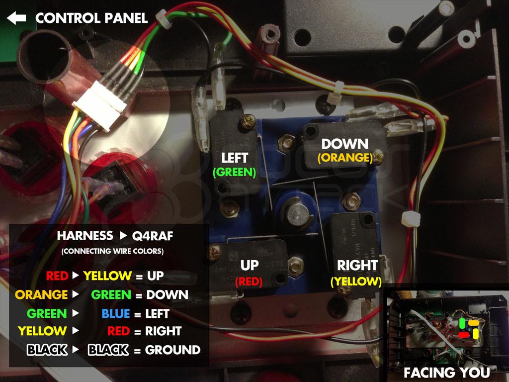 q4raf wiring 33503 1413851084 1280 1280 c 2 187 to 5 pin conversion harness sanwa [ 1024 x 768 Pixel ]