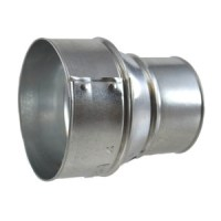 """6"""" X 4"""" Galvanized Stove Pipe Reducer - (Available For ..."""