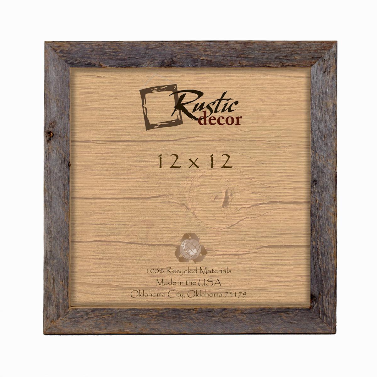 12x12 rustic barn wood