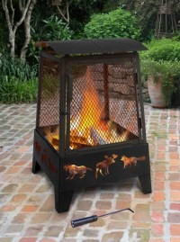 Landmann Haywood Wildlife Sturdy Steel Fire Pit - 25319 ...