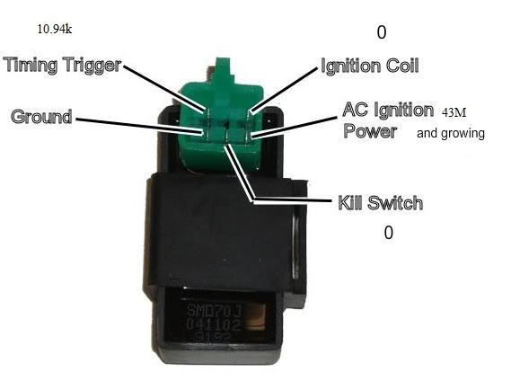 scooter ignition switch wiring diagram 20 hp kohler engine cdi kit for honda hobbit pa50 / camino mopeds - moped division