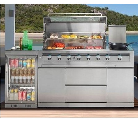 outdoor kitchen bbq tile backsplash galaxy potts point package the store