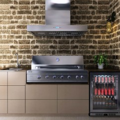 Outdoor Kitchen Exhaust Hoods Hood Vents Euro Amici Hooded Bbq The Store