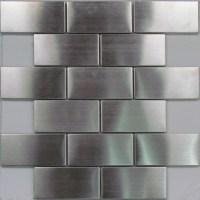 0801 Stainless Steel Subway Mosaic Tiles - ExoTiles