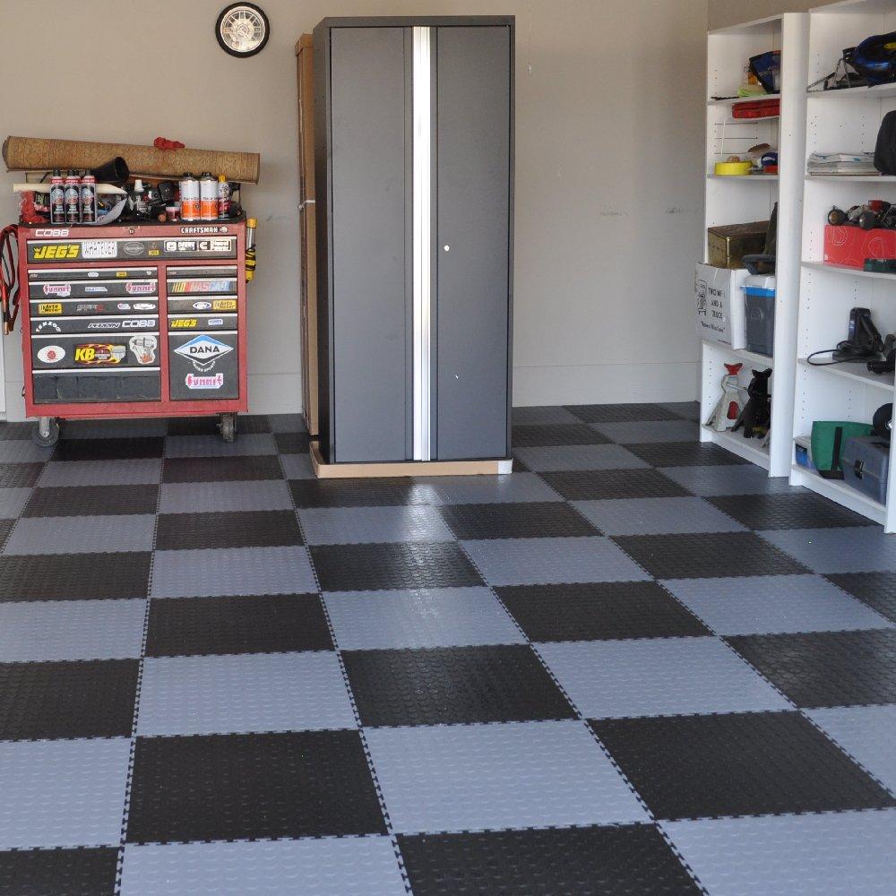 Perfection Floor Coin Pattern Interlocking Flexible Tiles