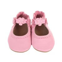 Claire May Jane Soft Soles Baby Shoes, Pink | Robeez