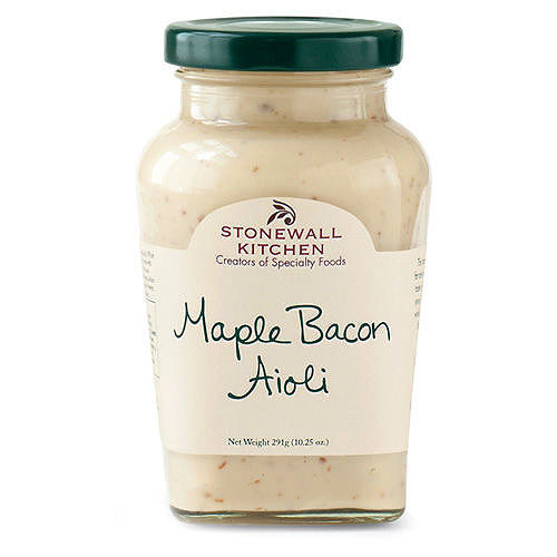 stonewall kitchen aioli cabinet lazy susan maple bacon 10 25oz zeb s general store image 1