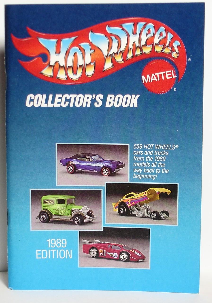 1989 Hot Wheels Collectors Book