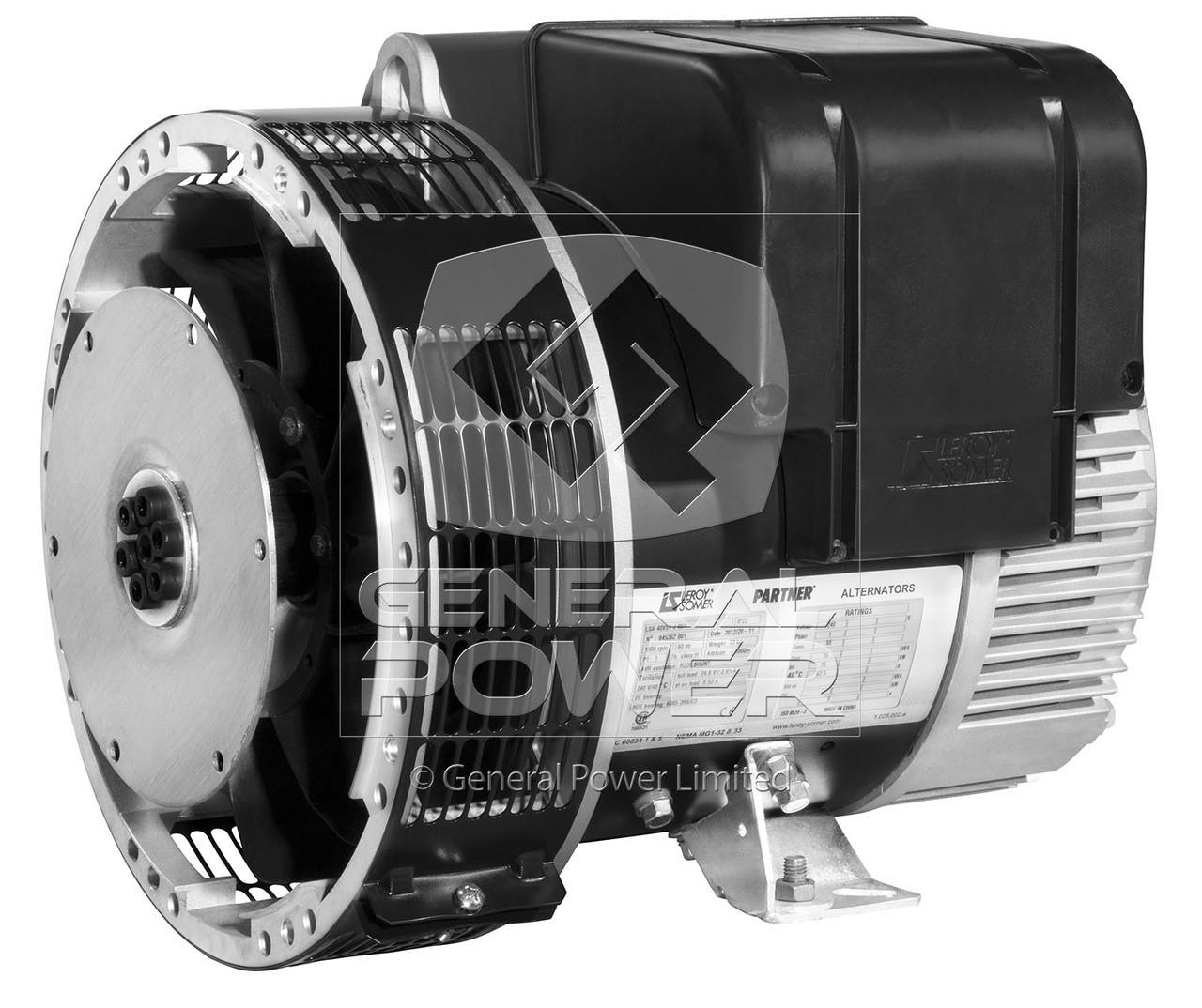Leroy Somer LSA 423 M7 Alternator   Leroy Somer Generator