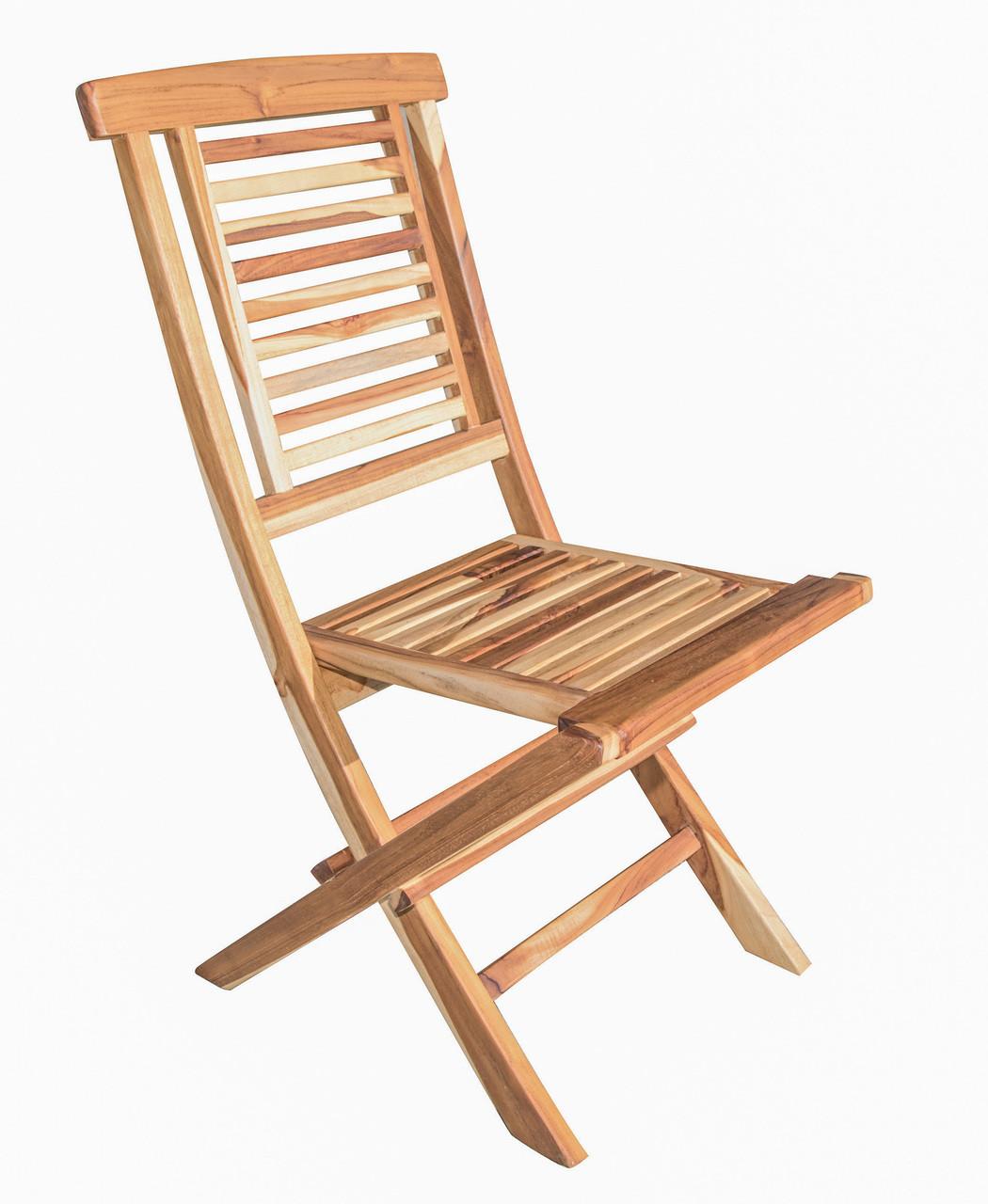 teak folding chair bean bag baby recall ecodecors indoor outdoor dining image 1