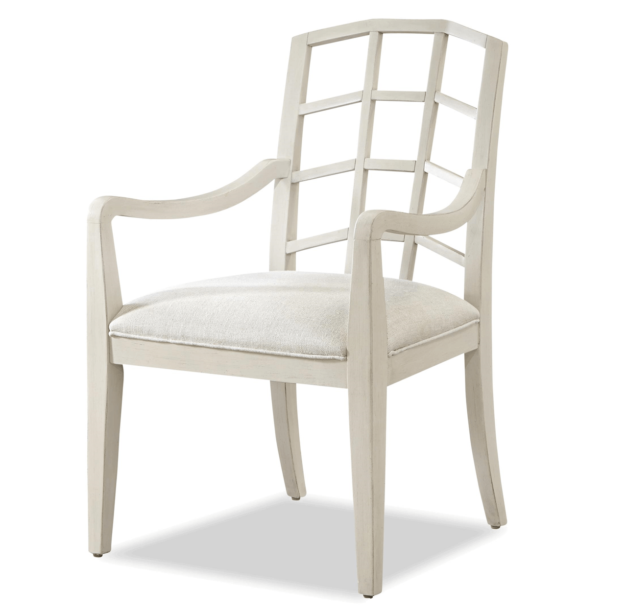 french white dining chairs movie recliner modern slip upholstered arm chair