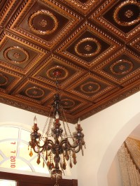 Faux Tin Ceiling Projects | Decorative Ceiling Tiles Inc.