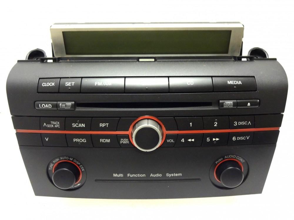 medium resolution of mazda 3 2005 radio