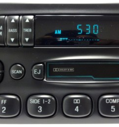 1996 ford explorer car stereo radio wiring diagram  [ 1280 x 680 Pixel ]